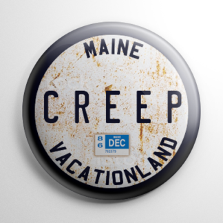"Horror - Creepshow ""Creep"" License Plate Button"