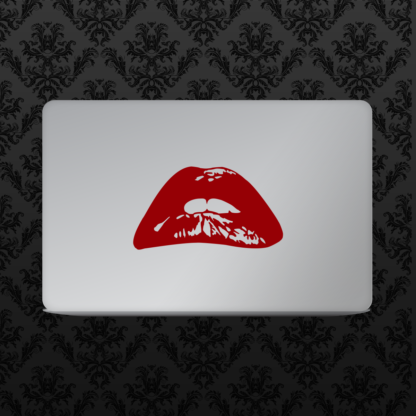Vinyl Decal - Rocky Horror Lips Red Large