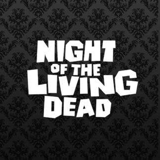 Vinyl Decal - Night of the Living Dead White