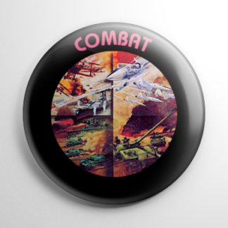 Video Games - Combat Cartridge Button