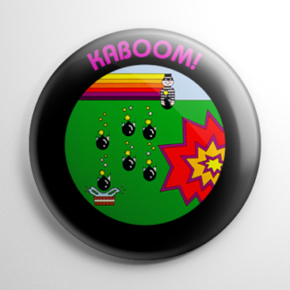 Video Games - Kaboom Cartridge Button