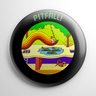 Video Games - Pitfall Cartridge Button
