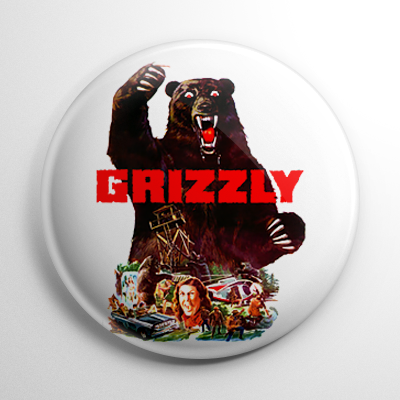 Horror - Grizzly Button