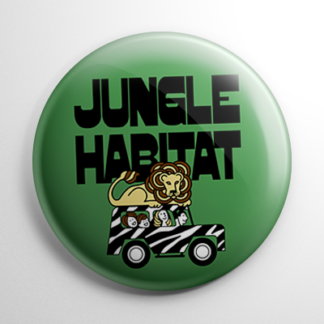 Novelty - Jungle Habitat Button