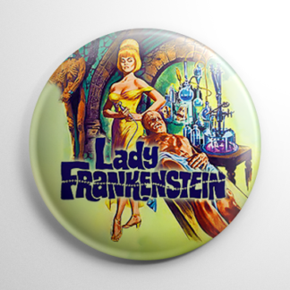 Horror - Lady Frankenstein (B) Button