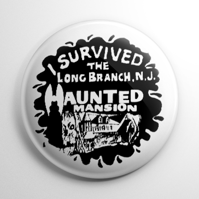 Novelty - Long Branch Haunted House Button