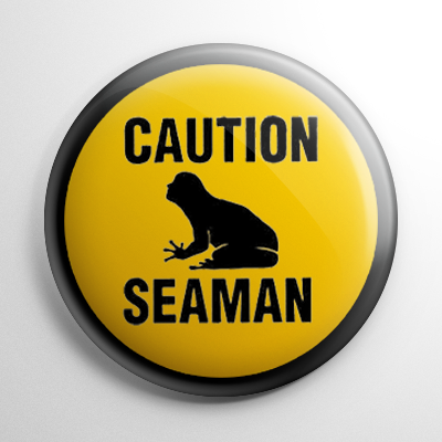 Video Games - Seaman Button