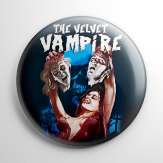 Horror - Velvet Vampire Button