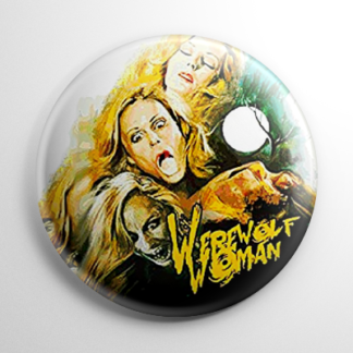 Horror - Werewolf Woman Button
