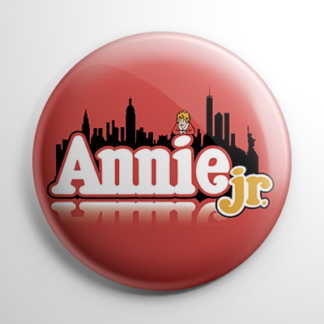 Broadway - Annie Jr. Button