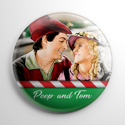 Babes in Toyland - Bo Peep & Tom Tom Button