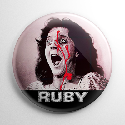Horror - Ruby Button
