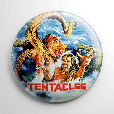 Horror - Tentacles Button