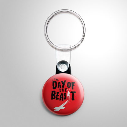 Horror - Day of the Beast Keychain