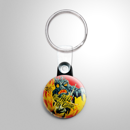 Horror - From Hell It Came Keychain