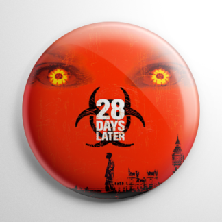Horror - 28 Days Later Button