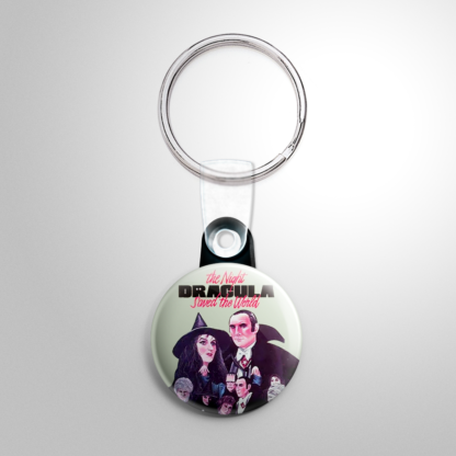Horror - Night Dracula Saved the World Keychain