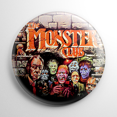 Horror - Monster Club (A) Button