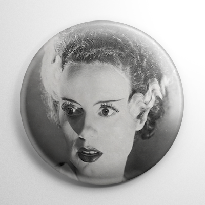 Monsters - Bride of Frankenstein (D) Keychain