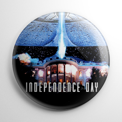 Science Fiction - Independence Day (A) Button