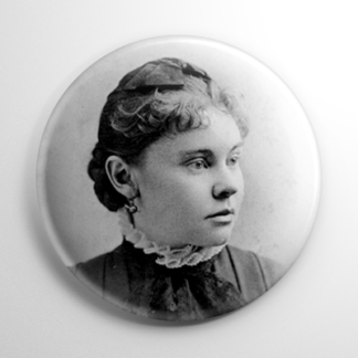Young Lizzie Borden Button